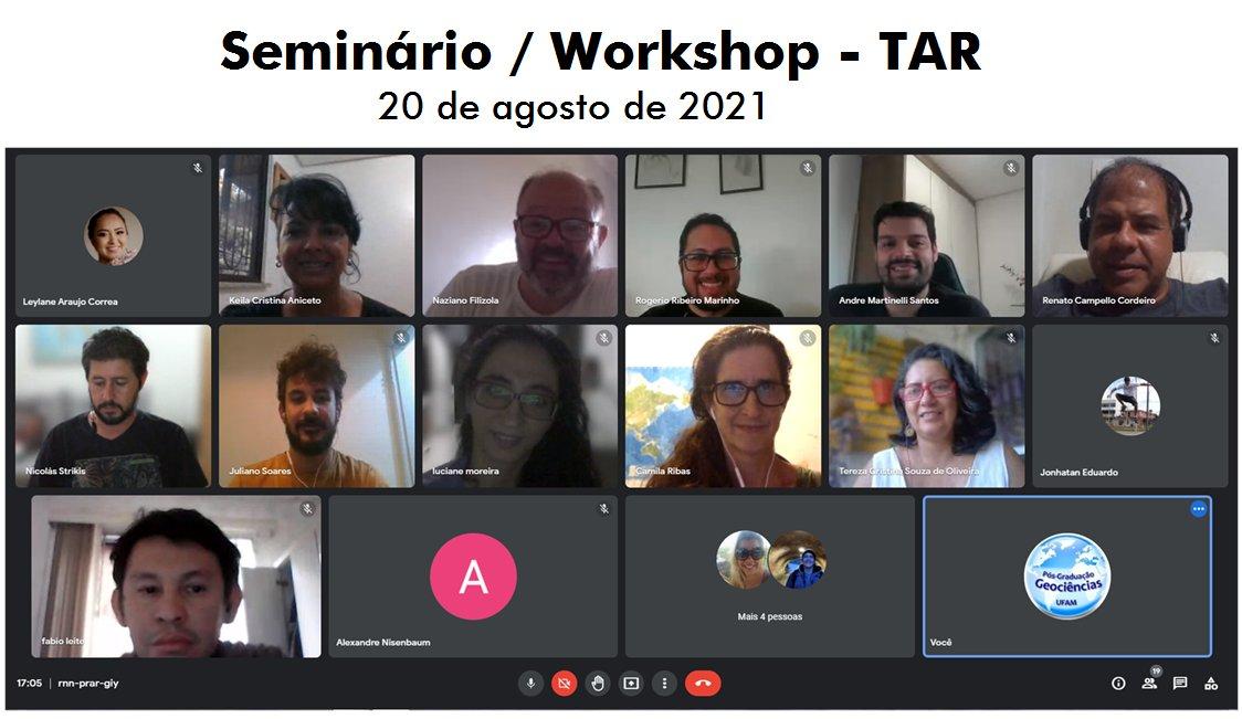 Seminário TAR 2021
