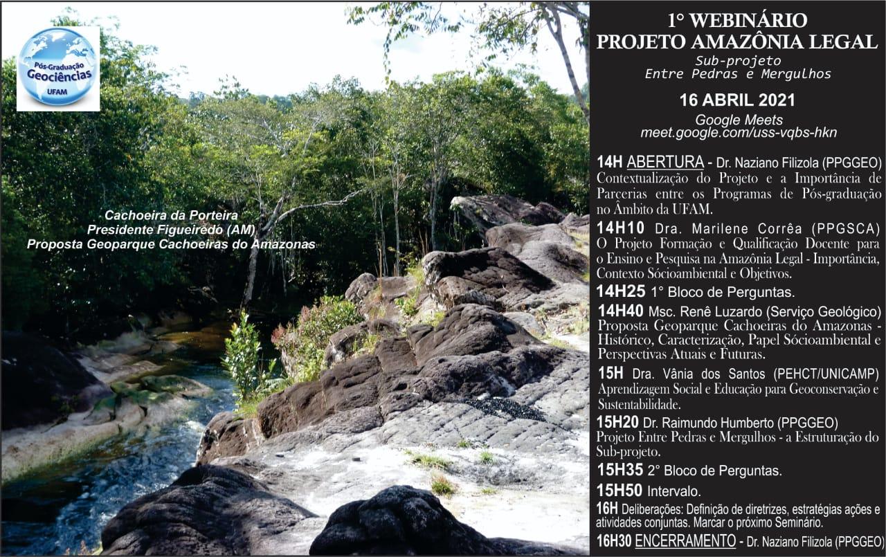 1° Webinário Projeto Amazônia Legal